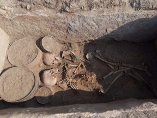 In Photos: Young Couple Buried 4,000 Years Ago in Kazakhstan | Live Science