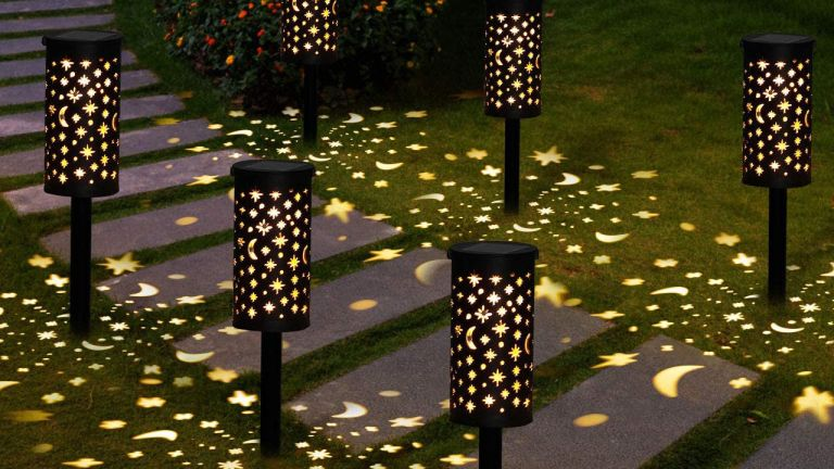 Amazon garden buys: GolWof Solar Garden Lights Outdoor on pathway
