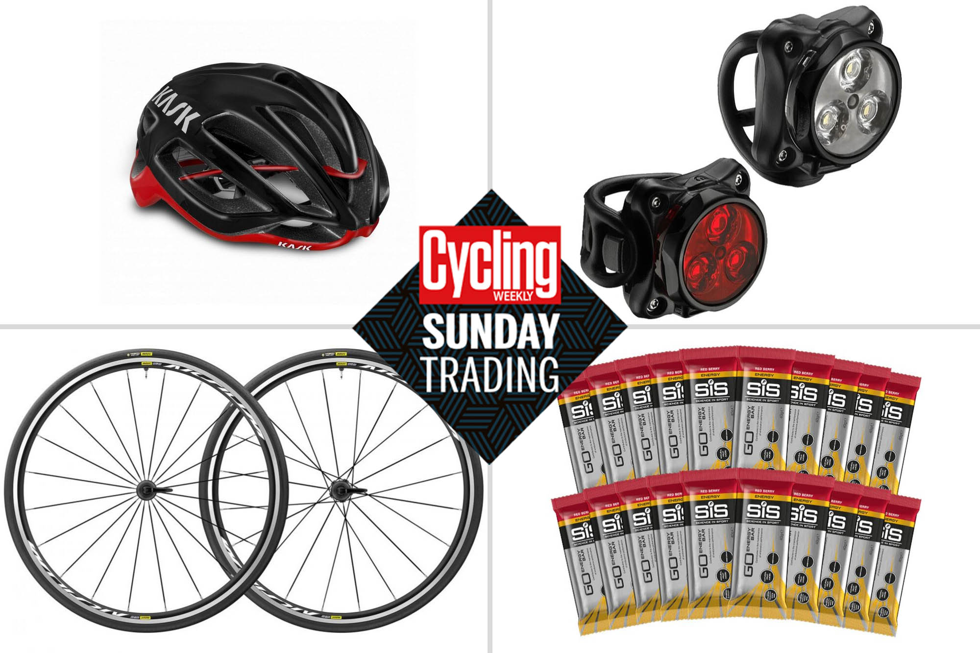 Sunday trading: Big discounts on Mavic wheels, bike lights and SiS nutrition