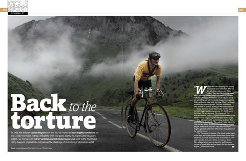 Cycle Sport magazine, August 2010 issue