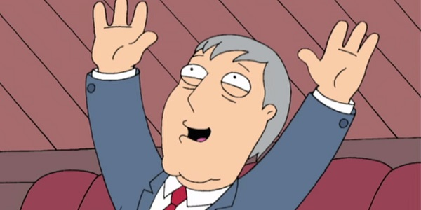 Mayor Adam West Family Guy Fox