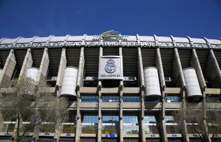 Santiago Bernabeu File Photo