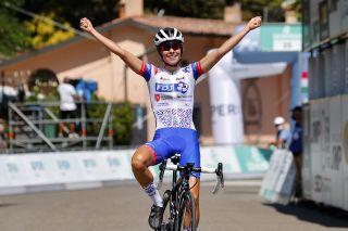 Cecilie Uttrup Ludwig (FDJ Nouvelle-Aquitaine Futuroscope) wins the 2020 Giro dell'Emilia