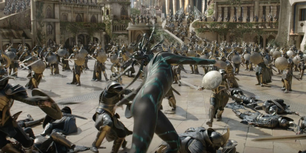 A Massive Battle in Asgard