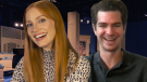 'The Eyes Of Tammy Faye' Interviews With Jessica Chastain and Andrew Garfield