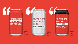 And you can even design your own can.