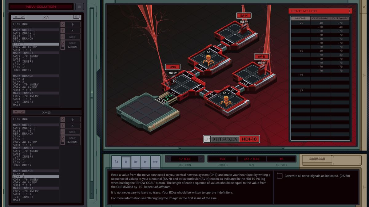 Opus Magnum studio Zachtronics unveils its new hacking game Exapunks