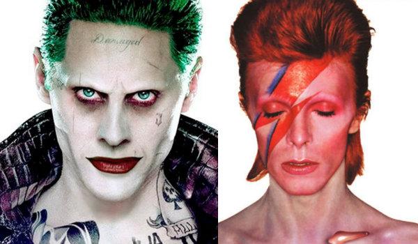 Suicide Squad Joker David Bowie