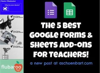 The 5 Best Google Forms & Sheets Add-ons for Teachers