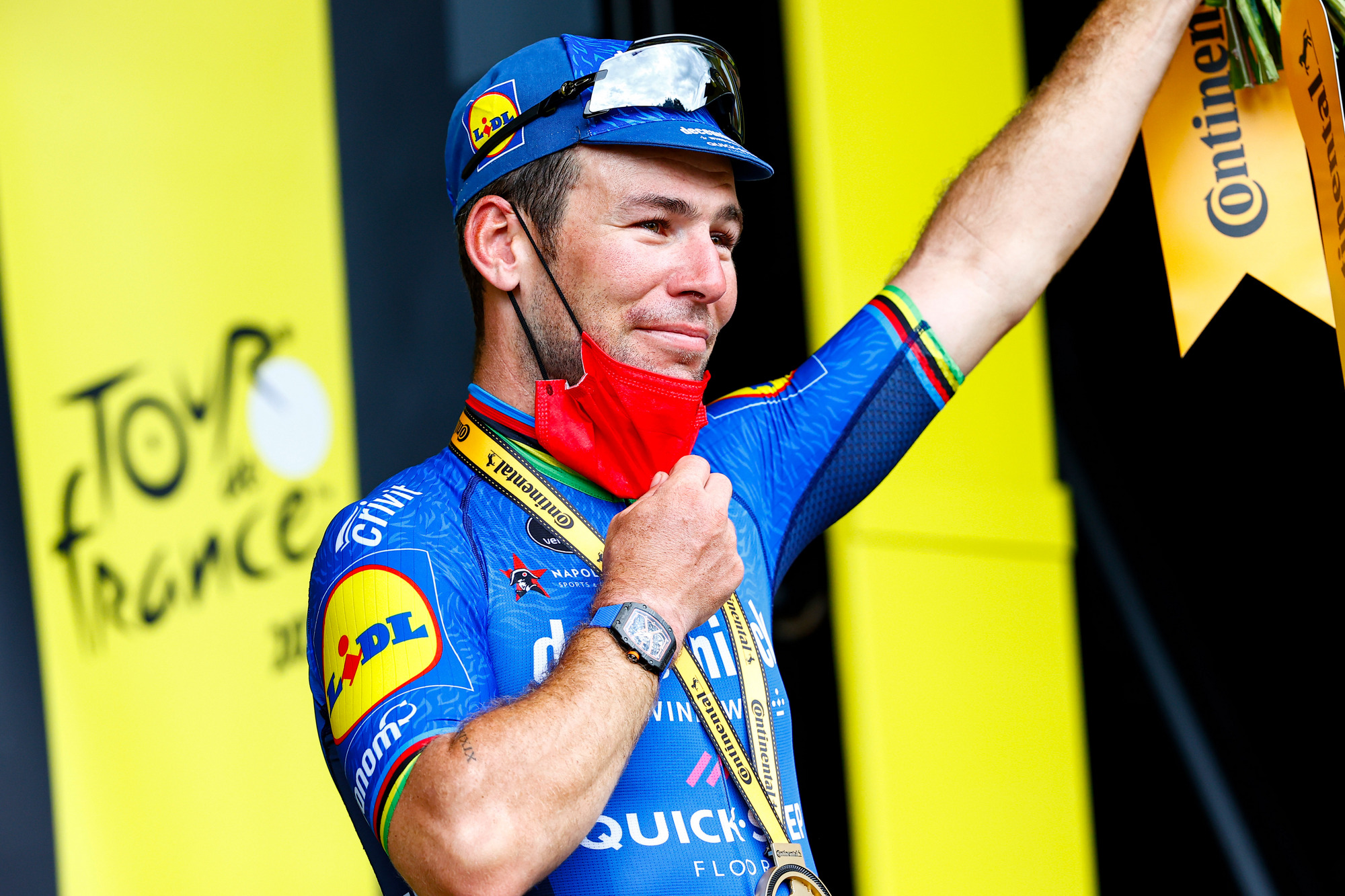 Tour de France 2021 108th Edition 4th stage Redon Fougeres 1504 km 29062021 Mark Cavendish GBR Deceuninck QuickStep photo Luca BettiniBettiniPhoto2021