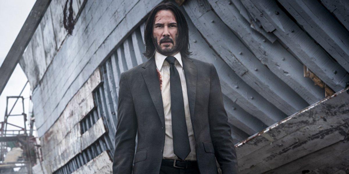 John Wick: Chapter 3 - Parabellum Keanu Reeves shipyard Lionsgate