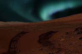 aurora, galaxy