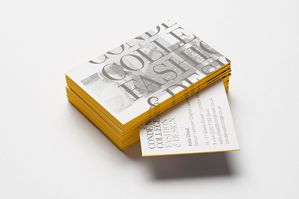 8 beautiful business cards for fashionistas creative bloq reheart Images