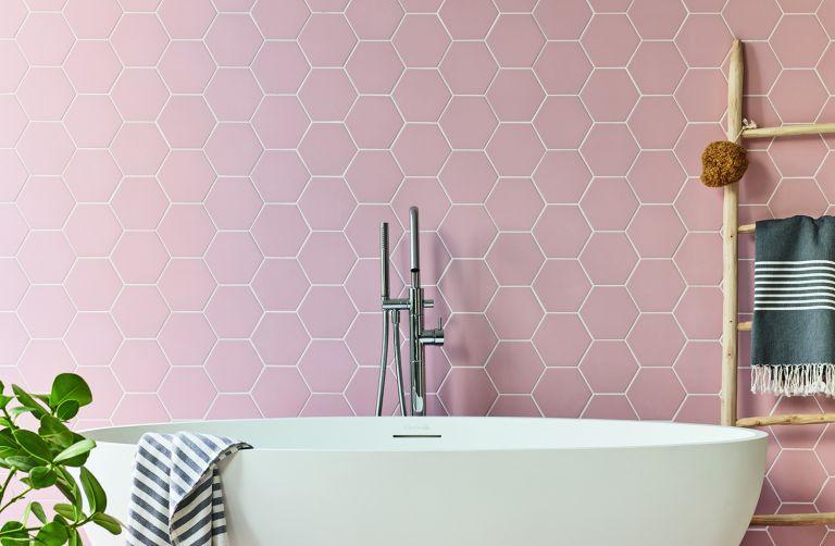 Claybrook hexagon tiles