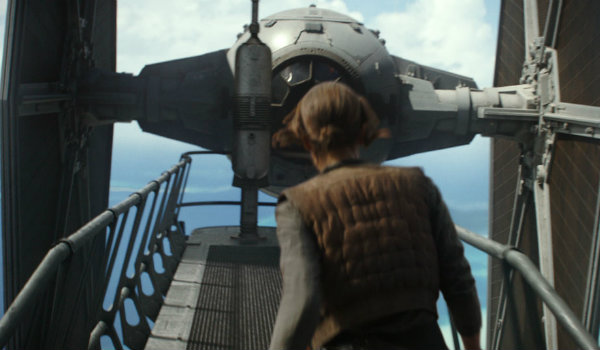 Rogue One deleted tie fighter shot