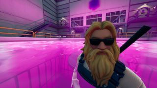 fortnite bathe in purple pool steamy stacks