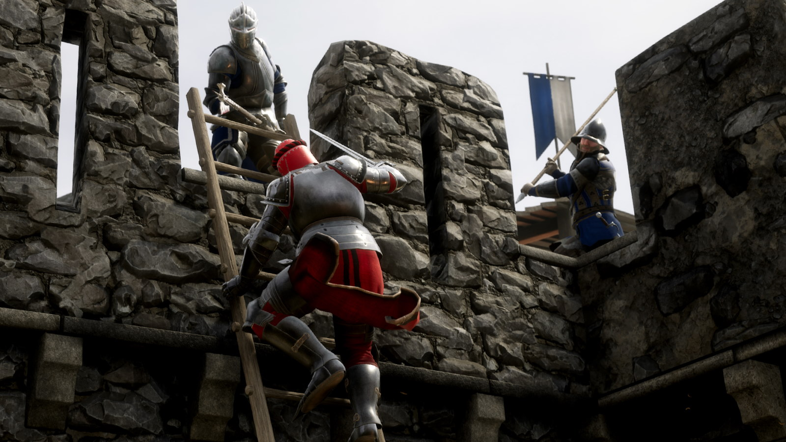 Mordhau Adds Elo Ranked Knightly Duels And Improves Kicking Pc Gamer