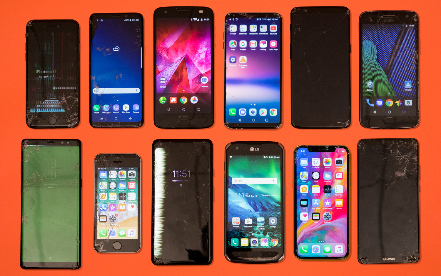 Phone Drop Test Results 2018: We Dropped $18K Worth of