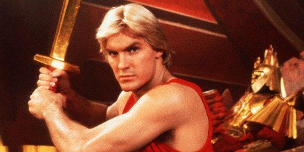 Sam Jones in Flash Gordon movie