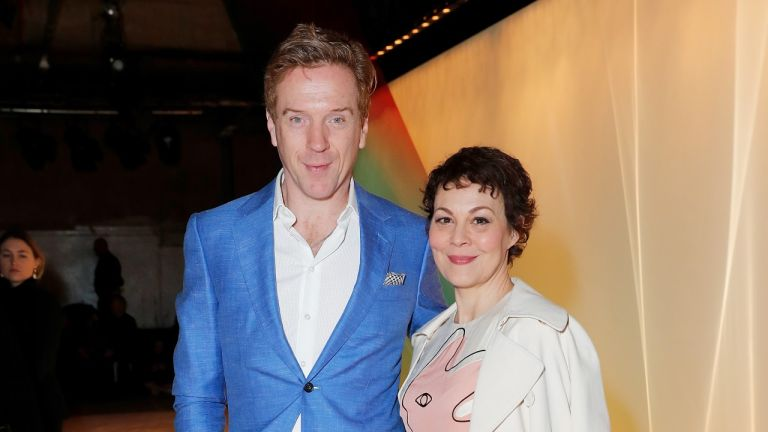 Damian Lewis and Helen McCrory attend the Roksanda show during London Fashion Week February 2019 at The Old Selfridges Hotel on February 18, 2019