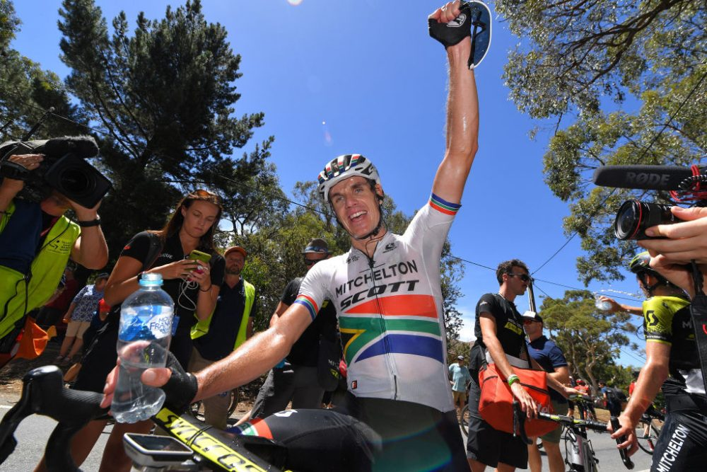 Daryl Impey defends Tour Down Under as Richie Porte wins on Willunga Hill again