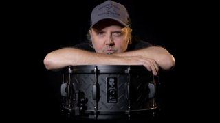 Tama Ltd Edition Lars Ulrich Black Album Signature Snare