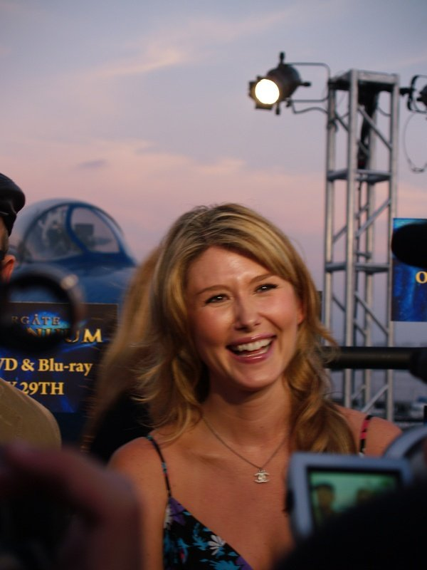 Comic Con: Aircraft Carrier Premiere Of Stargate Continuum #2870