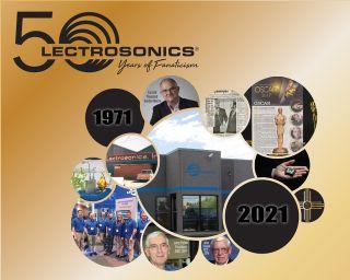 Lectrosonics Celebrates 50th Anniversary