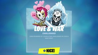 Fortnite Love and War challenges