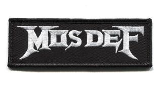 A picture of the Mos Def/Megadeth patch