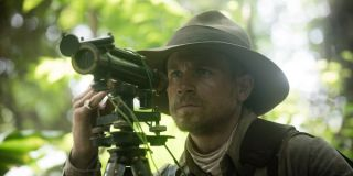 Lost City of Z Charlie Hunnam looks through telescope