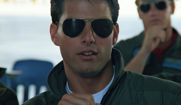 top gun maverick tom cruise aviators