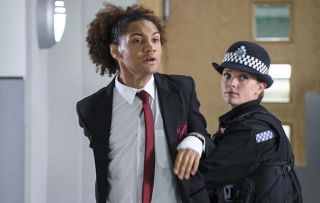 Heart-breaking scenes in Casualty for Elle and Jacob as the police arrest their teenage son Blake!