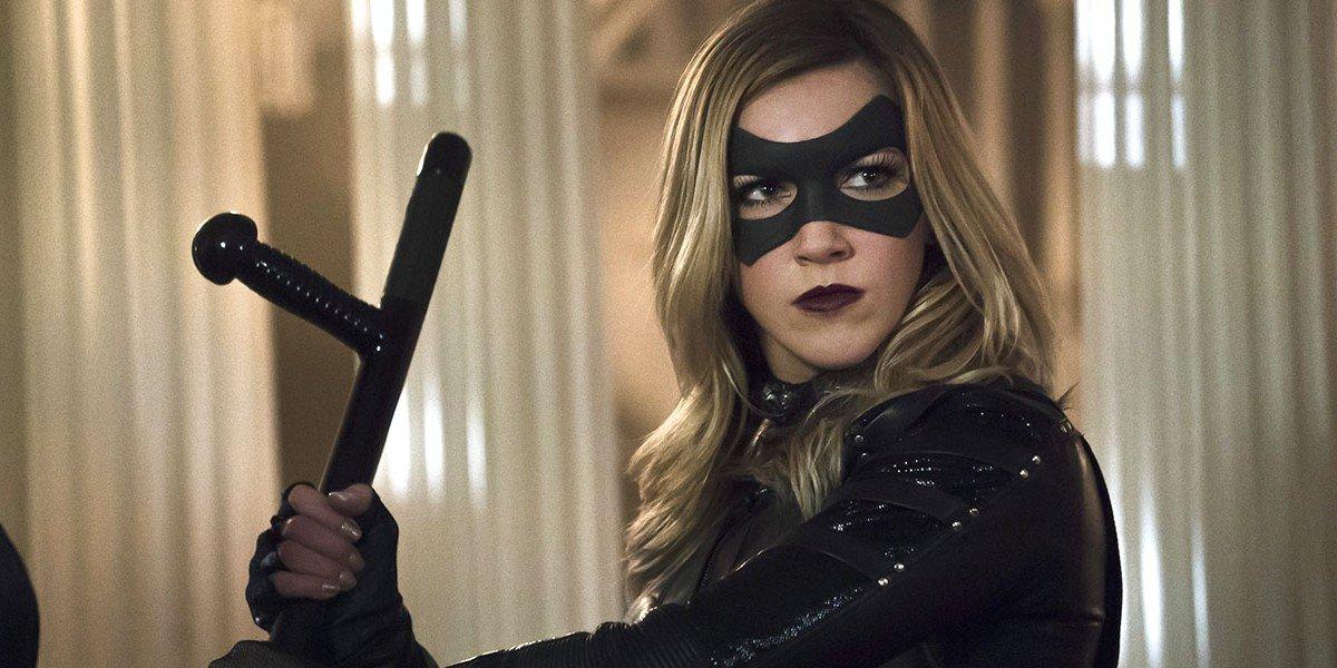Katie Kassidy as Laurel Lance/Black Canary on Arrow