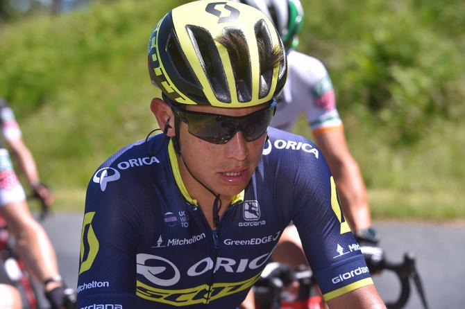 Esteban Chaves is getting prepared for the Tour de France