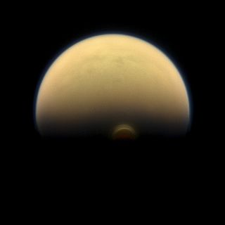 South Polar Vortex on Titan