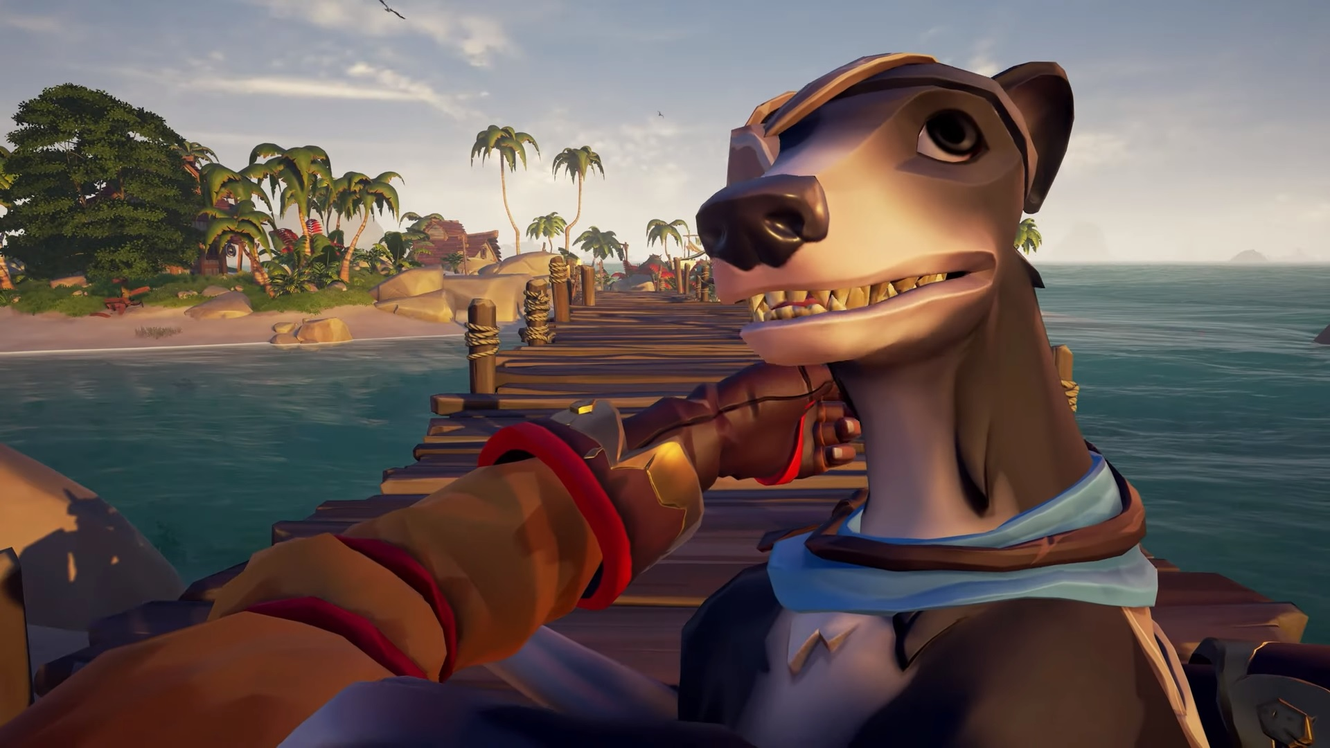 Sea of Thieves will let you become a dog owner on September 9