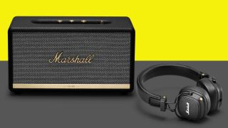 Buy a Marshall speaker and get Major III Bluetooth headphones for free