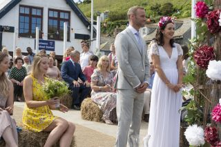 Ex EastEnders star Joe Absolom getting married in Doc Martin as Al to Morwenna