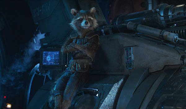 Rocket Raccoon in Avengers: Infinity War