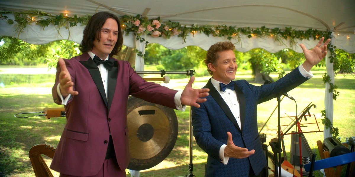 Bill & Ted Face The Music Keanu Reeves and Alex Winter