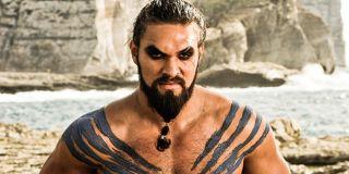 Jason Momoa angry Khal Drogo Game of Thrones Season 1 HBO
