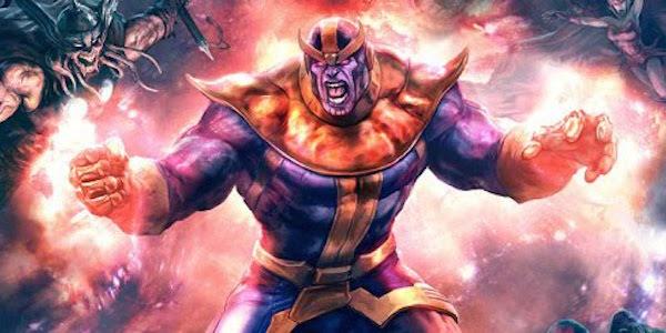 Thanos the Thanos Imperative comic