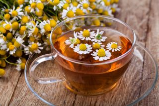 Anyone up for a cup of chamomile tea and flowers?