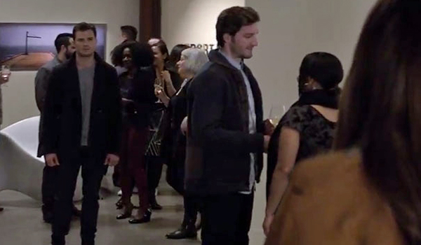 fifty shades darker art show with Ana