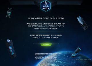 Axe Apollo Space Academy Promotion