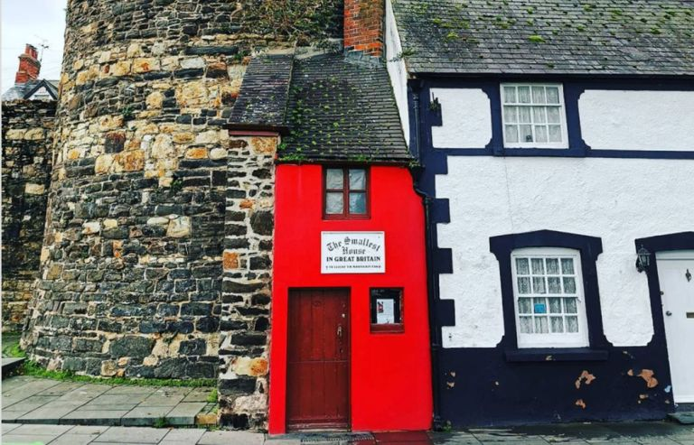 The UK's smallest house