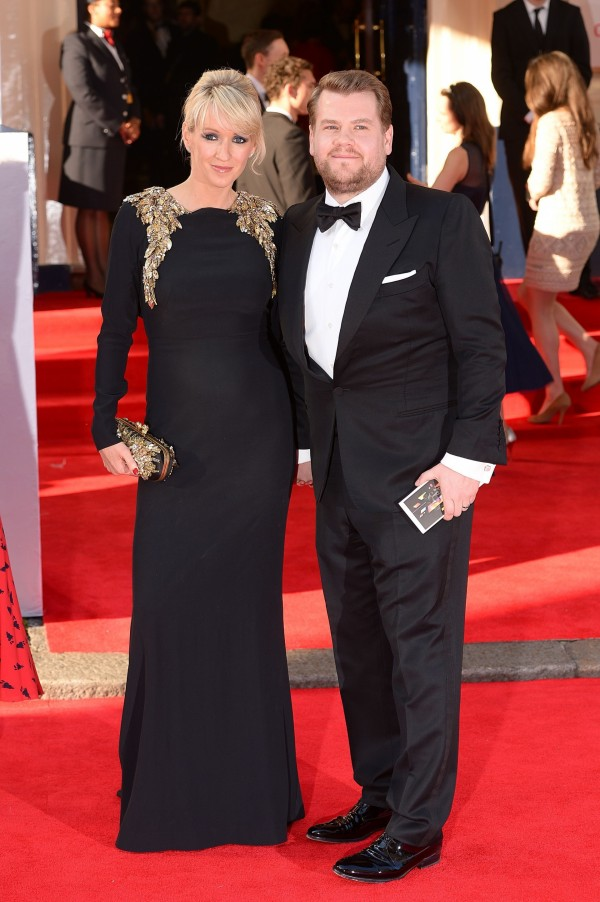 James Corden and wife Julia