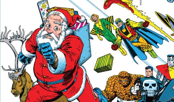 Santa Marvel Holiday Special Marvel