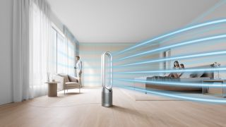 Dyson's latest air-purifiers come with a quieter fan and improved air purification mechanism